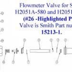 15213-1 FLOW VALVE BREAKDOWN