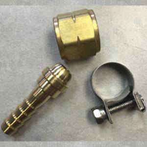 Brass Details about  /10lb lot Mixed Oxygen /& Acetylene Welding 1//4 Inch B Size Hose Repair