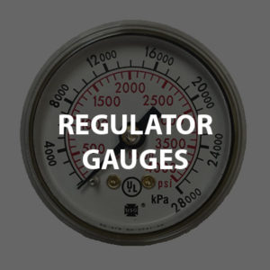 Regulator Parts: Gauges