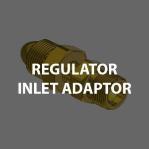 Regulator Parts: Inlet Adaptor