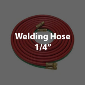 Twin Hoses 1/4""
