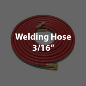 Twin Hoses 3/16""