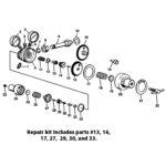 h92 repair kit